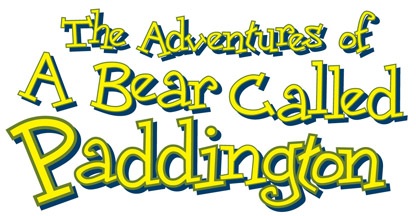 1997 The Adventures of a Bear Called Paddington logo