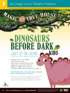 2015 The Magic Treehouse: Dinosaurs Before Dark
