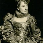 Donna Woodruff in Romeo and Juliet, Old Globe Theatre,1950