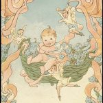 The Book of Baby Mine, written and illustrated by Melcena Burns Denny