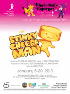 2013 the stinky cheese man poster