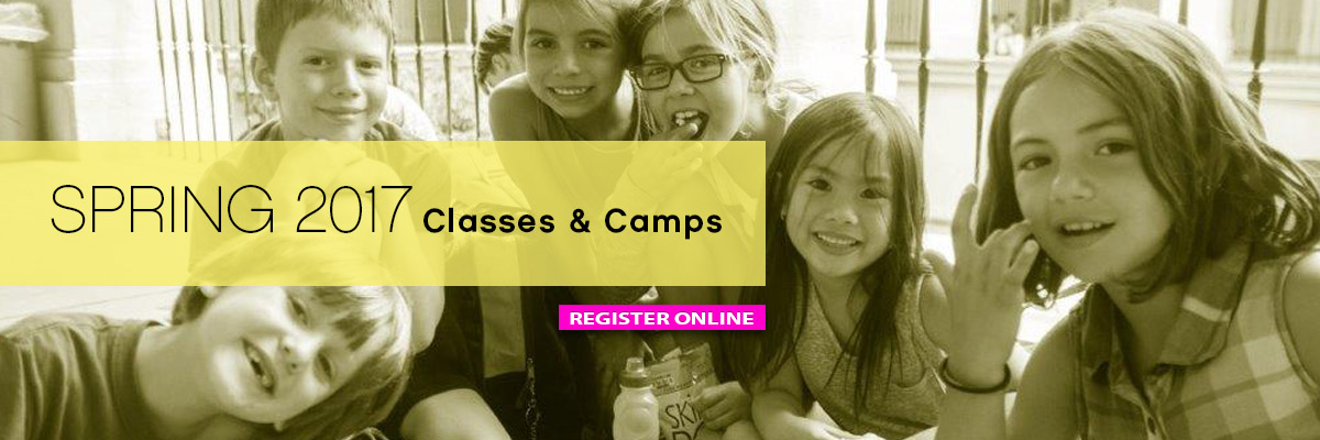 2017 Spring Classes and Camps Now Enrolling