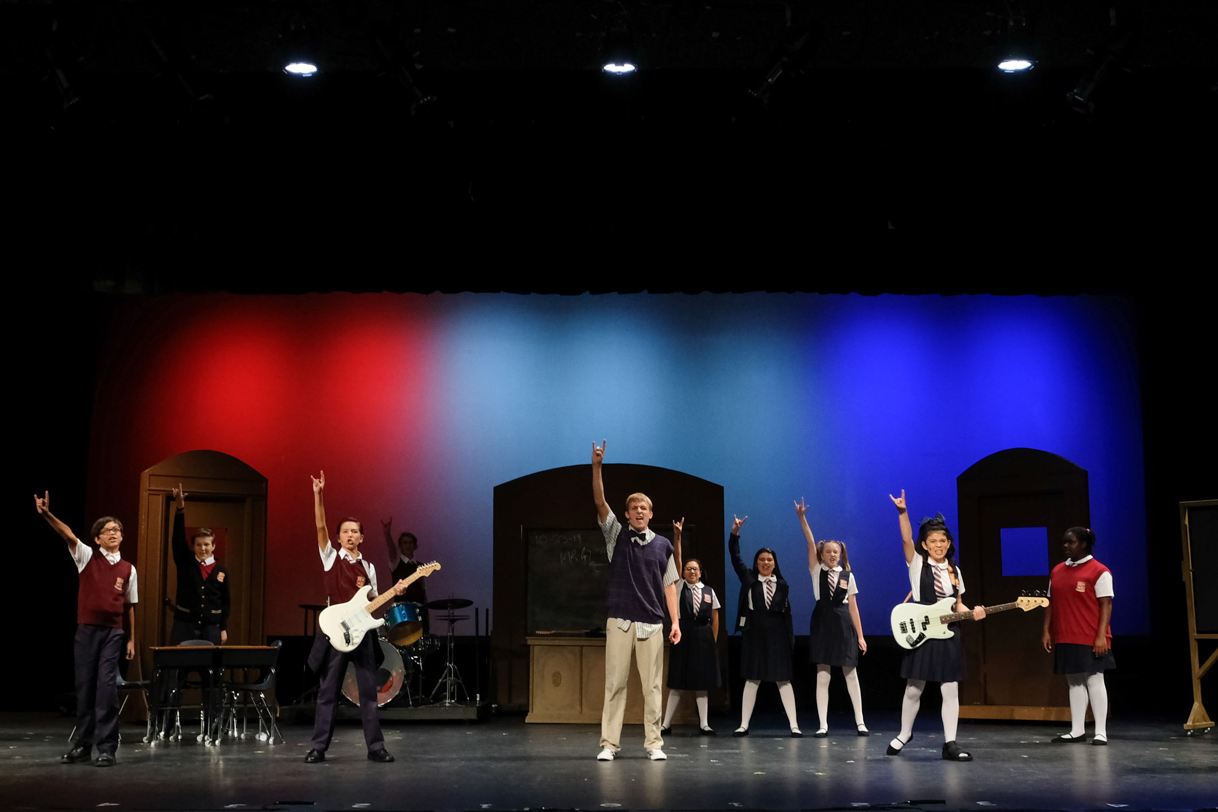 Despite setback, the show goes on for School of Rock