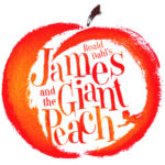 Roald Dahl's james and the Giant Peach logo 2021