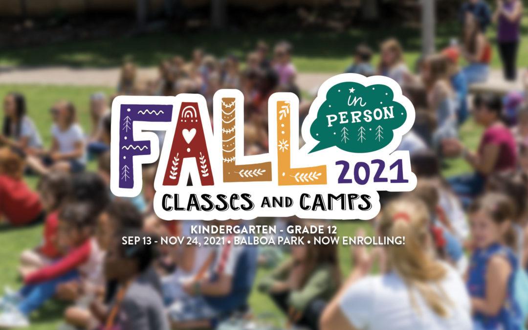 Fall Classes Now Enrolling